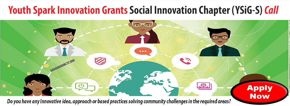 Youth Spark Innovation Grants - Social Innovation Chapter (YSiG-S)